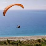 Paragliding -Agios Nikitas